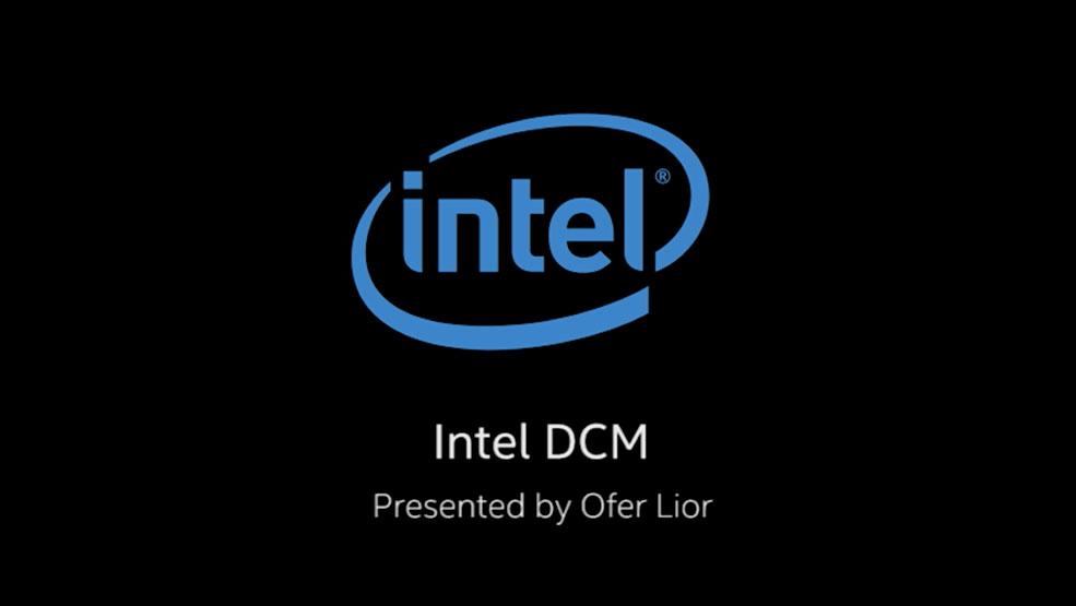 Intel DCM Demo with Ofer Lior