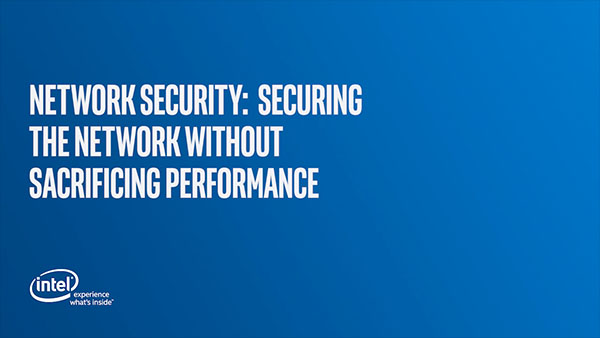 Network Security: Securing the Network without Sacrificing Performance